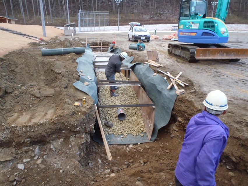 NEXTONE-αによる土木工事